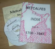 Metcalfes in India - Parts 1 & 2 (Booklet & DVD)