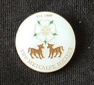 Yorkshire Rose/Calves Badge/Lapel Pin